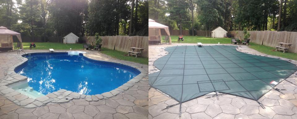 Decorative Pool Covers : Custom cover gallery aqua pool services