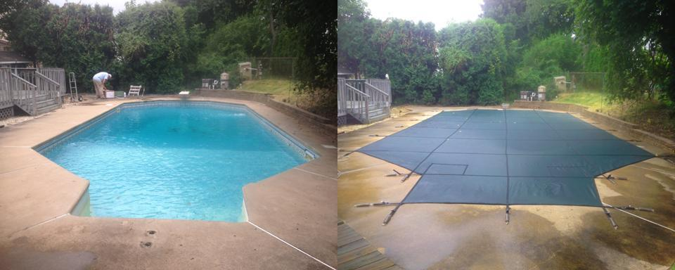 Decorative Pool Covers : Custom cover gallery aqua pool services