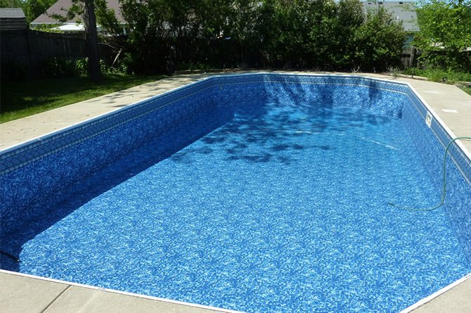 Virgin vinyl pool liner all