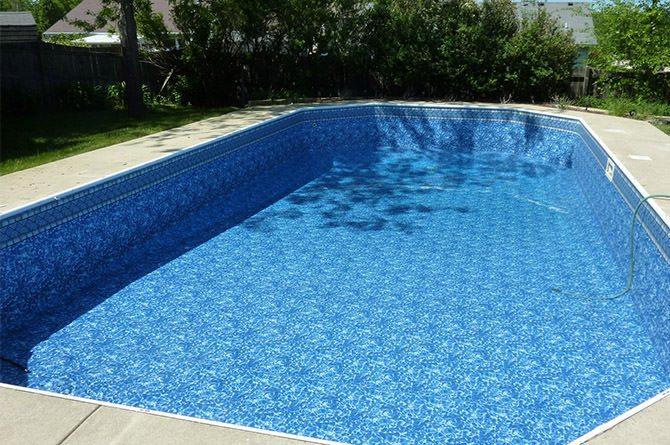 Vinyl Liner Replacement Aqua Pool, Cost Replacing Inground Vinyl Pool Liner